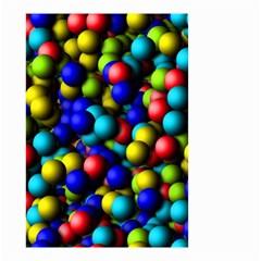 Colorful balls Small Garden Flag
