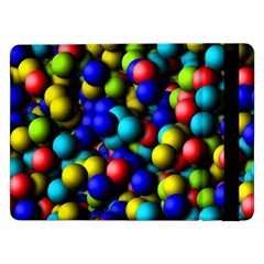 Colorful balls 	Samsung Galaxy Tab Pro 12.2  Flip Case