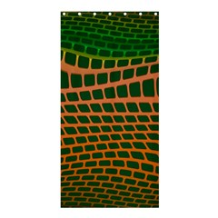 Distorted rectangles Shower Curtain 36  x 72