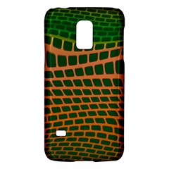 Distorted rectangles Samsung Galaxy S5 Mini Hardshell Case