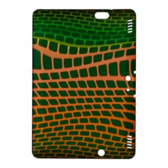 Distorted rectangles 	Kindle Fire HDX 8.9  Hardshell Case