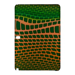 Distorted Rectangles 	samsung Galaxy Tab Pro 12 2 Hardshell Case