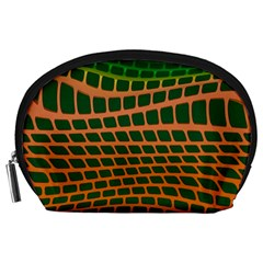Distorted rectangles Accessory Pouch