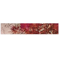 Floral Print Collage  Flano Scarf (large)