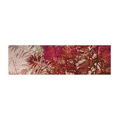 Floral Print Collage  Satin Scarf (Oblong)
