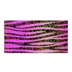 Hot Pink Black Tiger Pattern  Satin Wrap