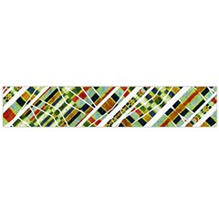 Colorful Tribal Geometric Print Flano Scarf (large)
