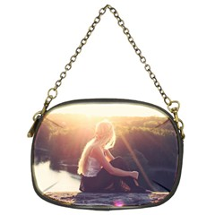 Boho Blonde Chain Purse (Two Sided)
