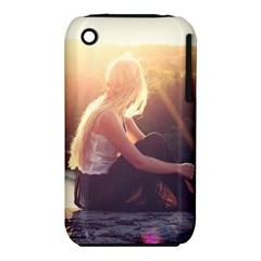 Boho Blonde Apple iPhone 3G/3GS Hardshell Case (PC+Silicone)