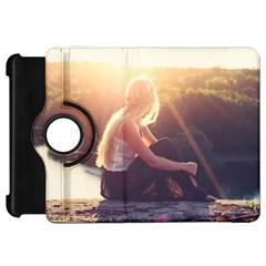 Boho Blonde Kindle Fire HD Flip 360 Case
