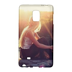Boho Blonde Samsung Galaxy Note Edge Hardshell Case