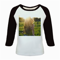 Sophia Kids Long Cap Sleeve T Shirt