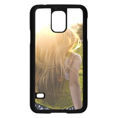 Sophia Samsung Galaxy S5 Case (Black)