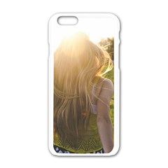 Sophia Apple Iphone 6 White Enamel Case