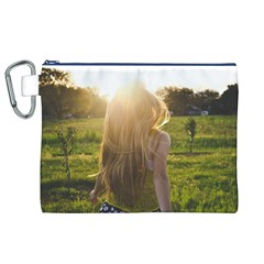 Sophia Canvas Cosmetic Bag (XL)