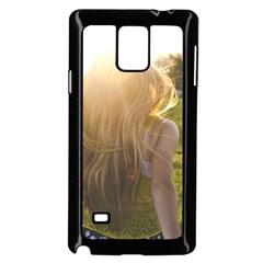 Sophia Samsung Galaxy Note 4 Case (Black)