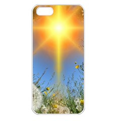 Dandelions Apple Iphone 5 Seamless Case (white)