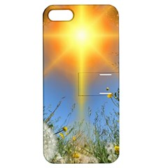 Dandelions Apple Iphone 5 Hardshell Case With Stand