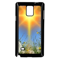 Dandelions Samsung Galaxy Note 4 Case (black)