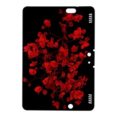 Dark Red Flower Kindle Fire HDX 8.9  Hardshell Case