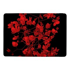 Dark Red Flower Samsung Galaxy Tab Pro 10.1  Flip Case
