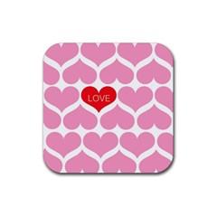 One Love Drink Coasters 4 Pack (square)