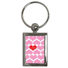 One Love Key Chain (rectangle)