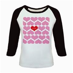 One Love Kids Long Cap Sleeve T-Shirt