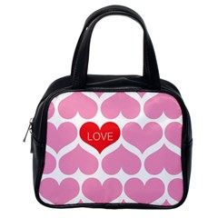 One Love Classic Handbag (one Side)