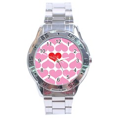 One Love Stainless Steel Watch