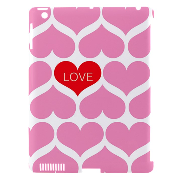 One Love Apple iPad 3/4 Hardshell Case (Compatible with Smart Cover)
