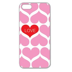 One Love Apple Seamless Iphone 5 Case (clear)