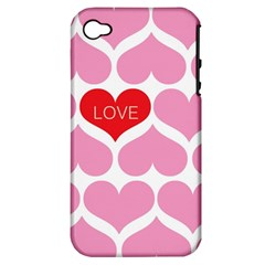 One Love Apple Iphone 4/4s Hardshell Case (pc+silicone)