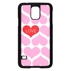 One Love Samsung Galaxy S5 Case (black)