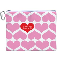 One Love Canvas Cosmetic Bag (XXXL)