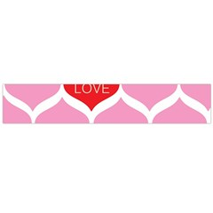 One Love Flano Scarf (large)