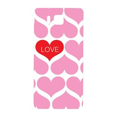 One Love Samsung Galaxy Alpha Hardshell Back Case