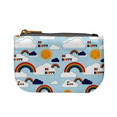 Be Happy Repeat Coin Change Purse