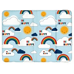 Be Happy Repeat Samsung Galaxy Tab 7  P1000 Flip Case