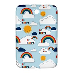 Be Happy Repeat Samsung Galaxy Note 8 0 N5100 Hardshell Case