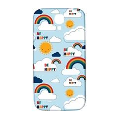 Be Happy Repeat Samsung Galaxy S4 I9500/i9505  Hardshell Back Case