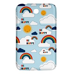 Be Happy Repeat Samsung Galaxy Tab 3 (7 ) P3200 Hardshell Case