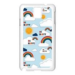 Be Happy Repeat Samsung Galaxy Note 3 N9005 Case (white)