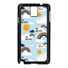 Be Happy Repeat Samsung Galaxy Note 3 N9005 Case (black)