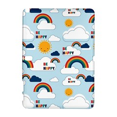 Be Happy Repeat Samsung Galaxy Note 10.1 (P600) Hardshell Case