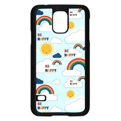 Be Happy Repeat Samsung Galaxy S5 Case (Black)