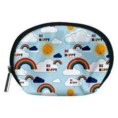 Be Happy Repeat Accessory Pouch (Medium)