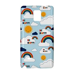 Be Happy Repeat Samsung Galaxy Note 4 Hardshell Case