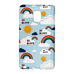 Be Happy Repeat Samsung Galaxy Note Edge Hardshell Case