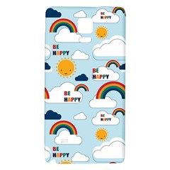 Be Happy Repeat Samsung Note 4 Hardshell Back Case